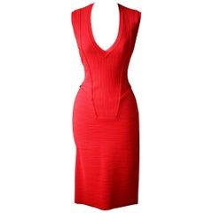 Givenchy Textured Stretch-Knit Dress