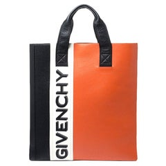 Givenchy Tricolor Mc3 Leather Tote