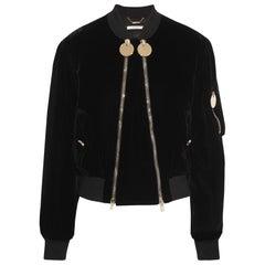 Givenchy Velvet Bomber Jacket