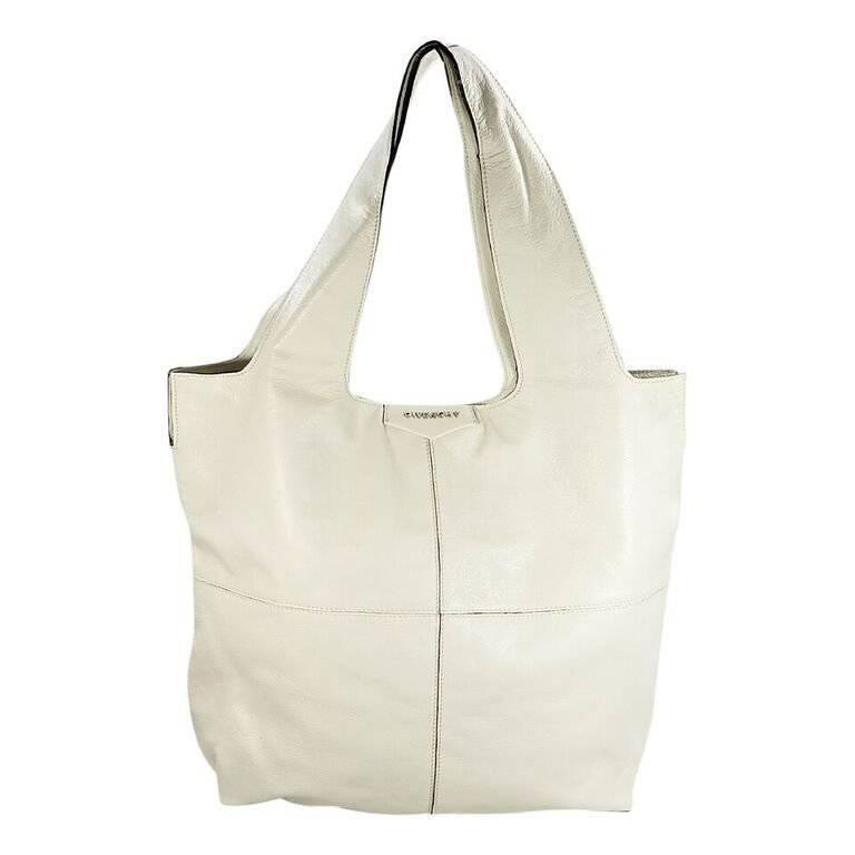 Givenchy White Leather George V Bag