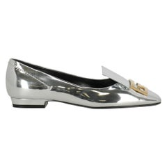 Givenchy Woman Ballet flats Silver Leather IT 36.5