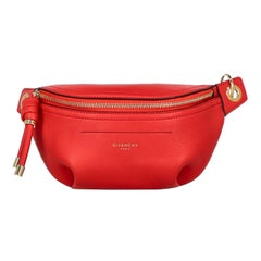 Givenchy Woman Belt bag Red Leather