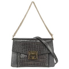Givenchy Woman Shoulder bag  Anthracite Leather