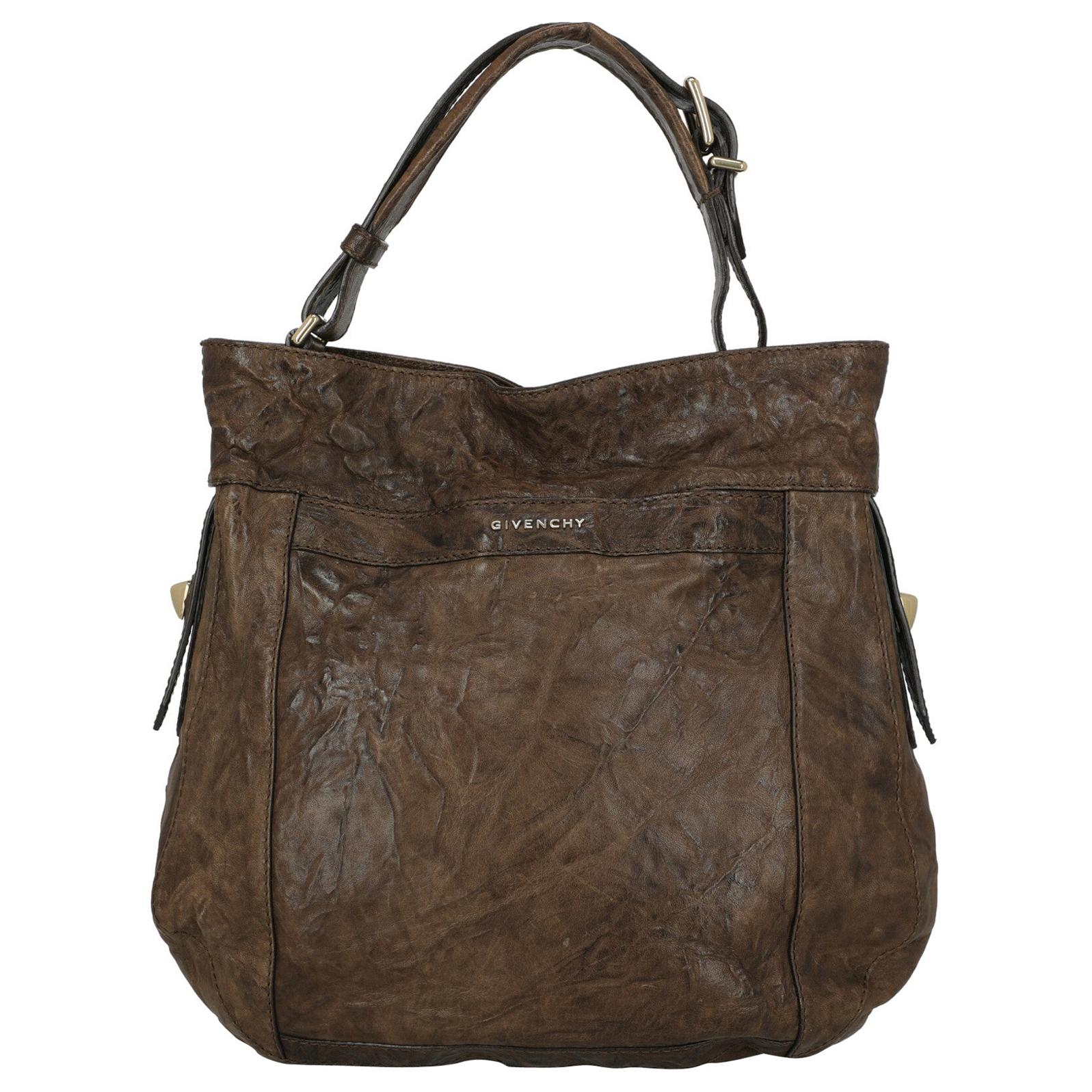 Givenchy Woman Shoulder bag  Brown Leather
