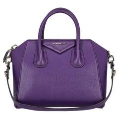 Givenchy  Women Handbags Antigona Purple Leather