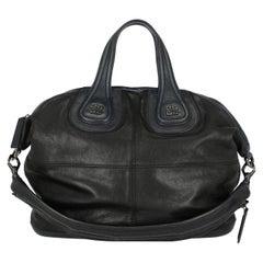 Givenchy  Women Handbags Nightingale Black, Navy Leather