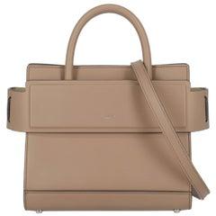 Givenchy Women's Handbag Horizon Beige Leather