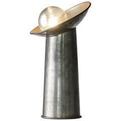 Gjilla Giani for Sormani 'Radar' Table Lamp in Pewter