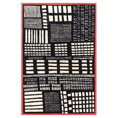 GJS11 Woollen Carpet by George J. Sowden for Post Design Collection/Memphis