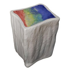 Glacial Sculpture Ice Side Table Limited Edition