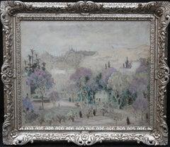 Istanbul Turkey - Irish Post Impressionist landscape oil painting female artist