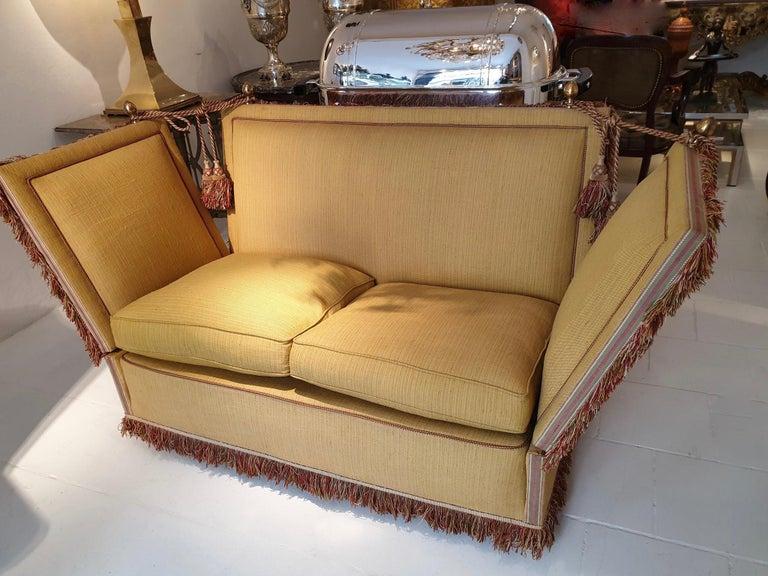 Glamorous Classic Hollywood Regency Knole Sofa For Sale 5