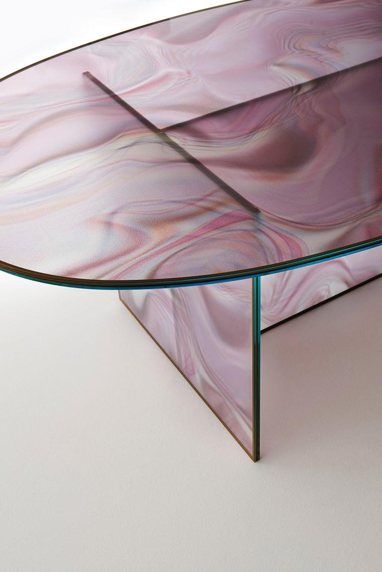 Glass Glas Italia Liquefy Coffee Tables Designed by Patricia Urquiola For Sale