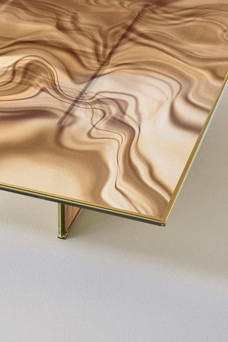Glas Italia Liquefy Coffee Tables Designed by Patricia Urquiola For Sale 1