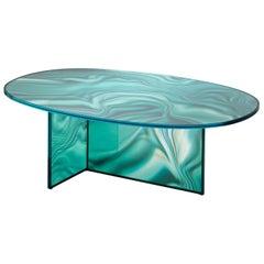 Glas Italia Liquefy Coffee Tables Designed by Patricia Urquiola