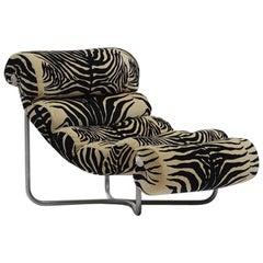 Glasgow Chair by George Van Rijck in Zebra Pattern