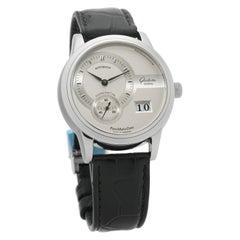 Glashutte Original Panomatic 90-01-02-02-14, Silver Dial, Certified