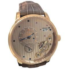 Glashutte Original PanoMaticInverse Rose Gold Automatic Watch 19102010530