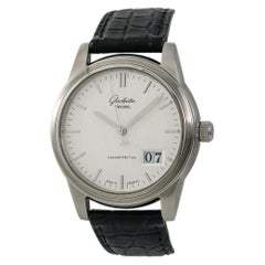 Glashutte Original Senator 38-42-04-22-04, Black Dial, Certified