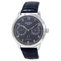 Glashutte Original Senator W10014020204, Black Dial, Certified &