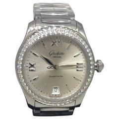 Glashutte Original Serenade Diamond Automatic Ladies Bracelet Watch 3922022234