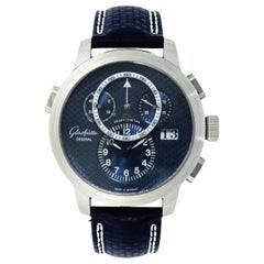 Glashutte PanoMatic Chrono XL in Platinum 95-01-05-15-04 Limited Edition