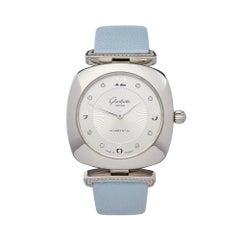 Glashutte Pavonina Stainless Steel  1-03-02-12-12-35 Wristwatch