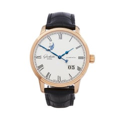 Glashutte Senator Panorama 18K Rose Gold 100-04-32-15-04 Wristwatch