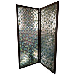 Glass 2 Panel Screen