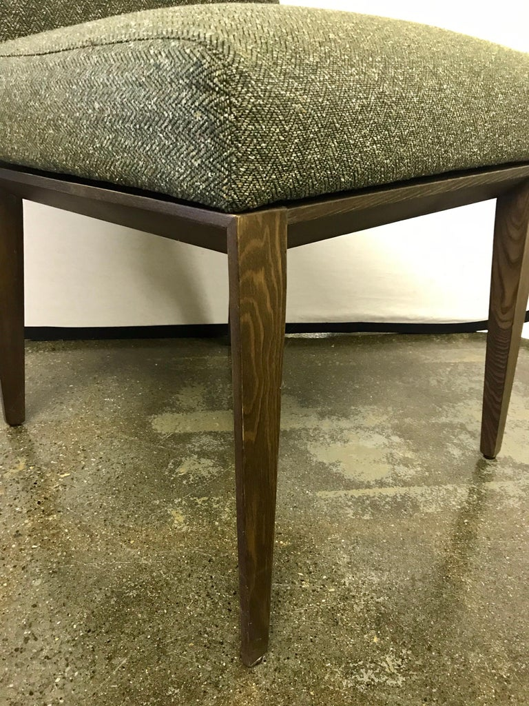 Glass and Chrome Dining Table and 4 Calligaris Chairs For Sale 4