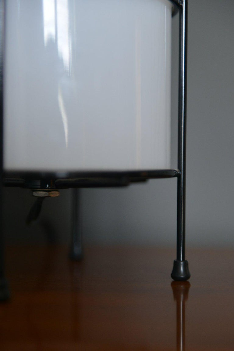 American Glass and Iron Case Study Lamp by Artemide For Sale