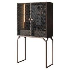 Glass Bar Cabinet
