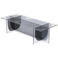 Glass Bipolar Coffee Table by Oskar Peet and Sophie Mensen