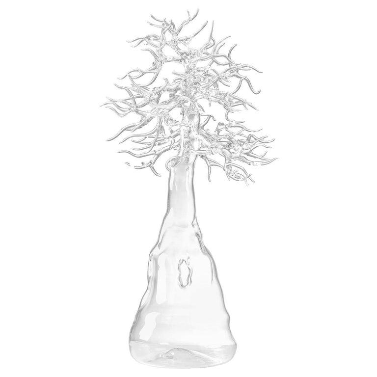 "Glass ""Bonsai"" Sculpture by Simone Crestani, Italy, 2017 For Sale"