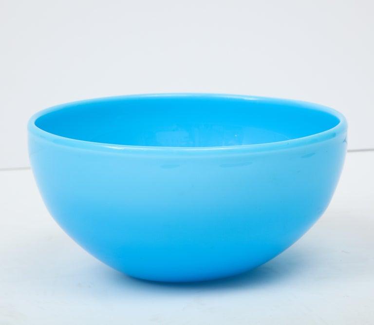 Decorative bowl by Kosta Boda, Sweden, circa 1970.