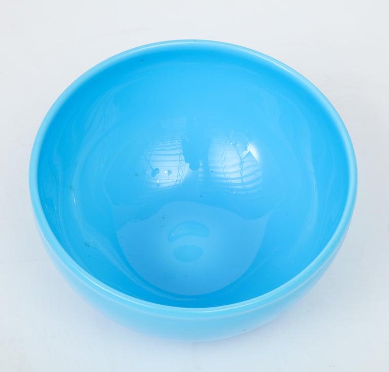 Mid-Century Modern Glass Bowl by Kosta Boda, Sweden For Sale