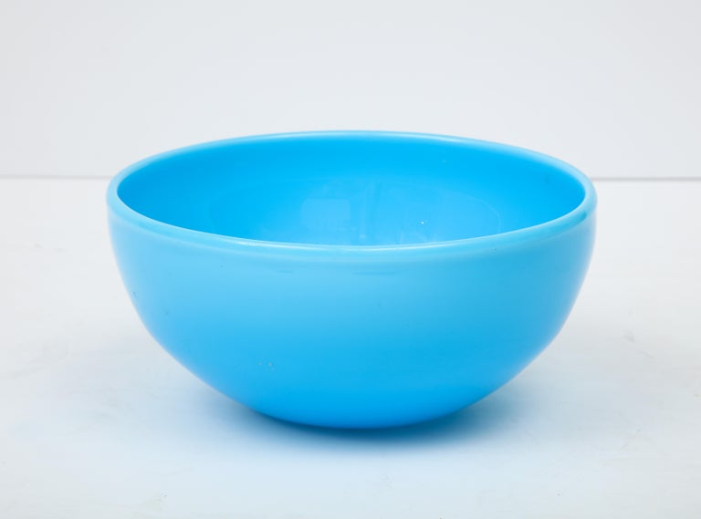 Glass Bowl by Kosta Boda, Sweden In Good Condition For Sale In New York, NY