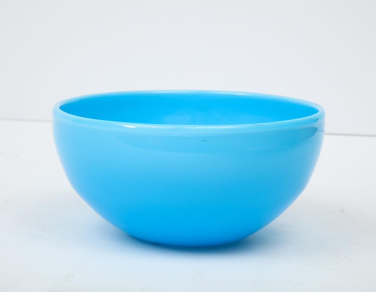 Late 20th Century Glass Bowl by Kosta Boda, Sweden For Sale