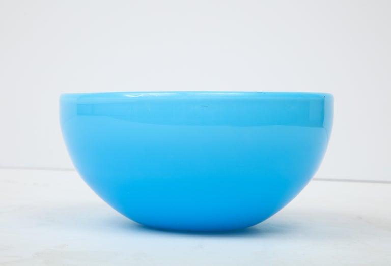 Blown Glass Glass Bowl by Kosta Boda, Sweden For Sale