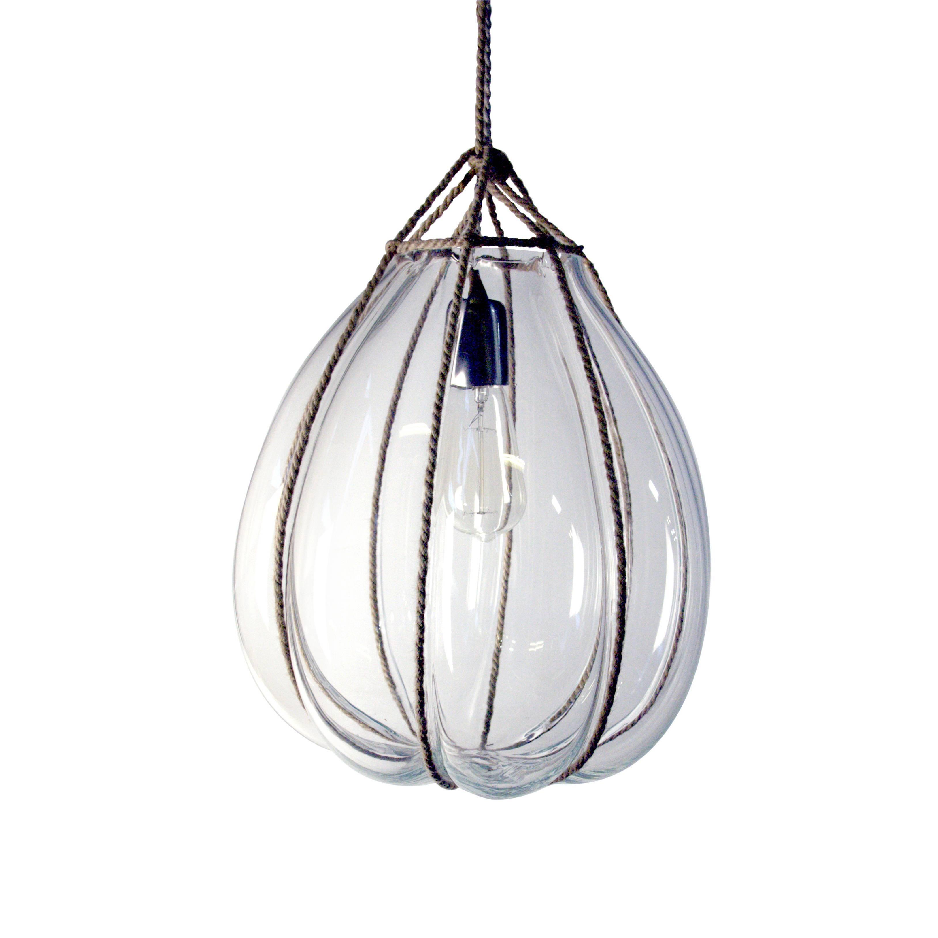Glass Bundle Pendant Medium For Sale