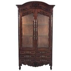 Glass-Case Cabinet, France, circa 1880