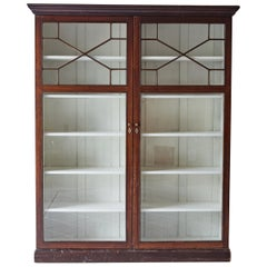 Glass Display Cabinet Attributed to Chippendale Design