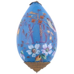 Glass Easter Egg, circa 1840, Attributed to the Imperial Glassworks