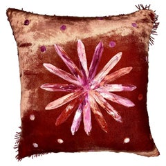 Glass Flower Cushion by Anna Paola Cibin