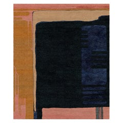 Glass for Sonia Delaunay Hand-Tufted Wool and Viscose Rug 5 x 8ft