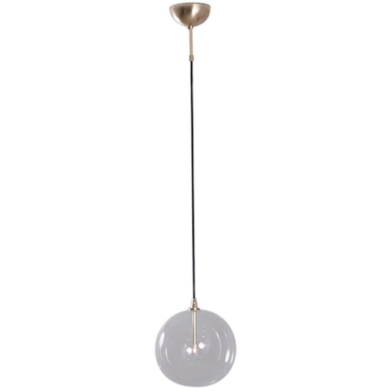 Glass Globe 30 Pendant Light by Schwung