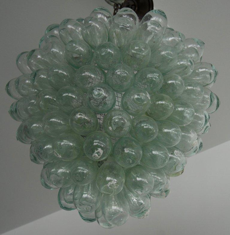 Grape Cluster Chandelier   Artisan Crafted Lighting