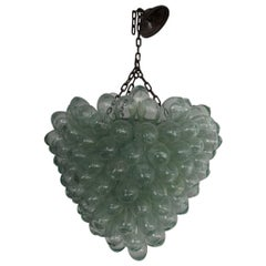 Glass Grape Cluster Chandelier