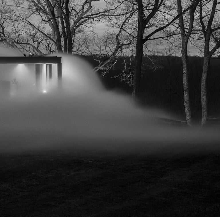 Glass House, Veil, 2014 Photograph by Richard Barnes In Excellent Condition For Sale In New Canaan, CT