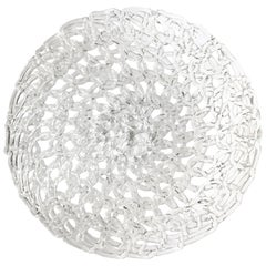 Glass Lace Fruit Bowl, Large